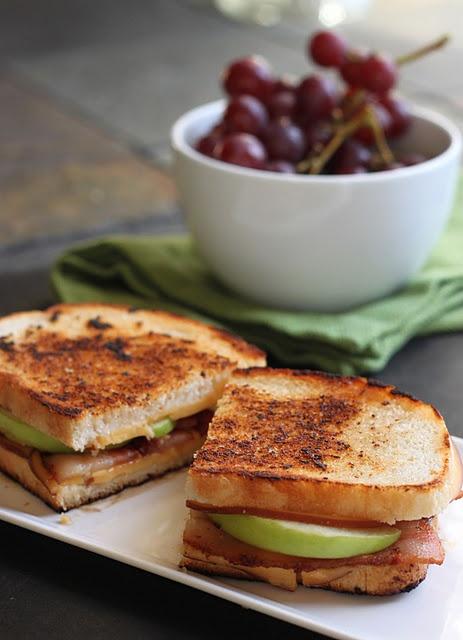 Smoked Gouda, Apple, and Bacon Melt | Eat | Pinterest