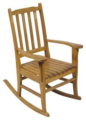 How to make a rocking chair with popsicle sticks