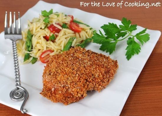 Paprika Panko Crusted Chicken Thighs from For the Love of Cooking ...