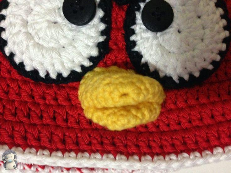 Gorro Angry Birds Crochet Patron | MEJOR CONJUNTO DE FRASES