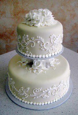 Small Wedding Cake Design : Elegant small wedding cake cakes Pinterest