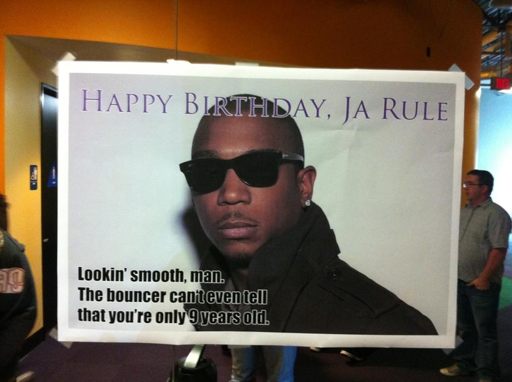 Happy birthday, Ja Rule! 2/29/12