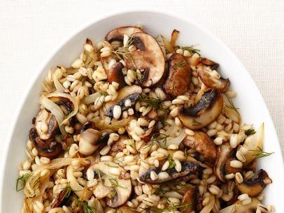 Mushroom Barley Recipe : Food Network Kitchen