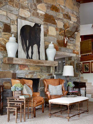 Cozy Equestrian Interior - James Farmer, III