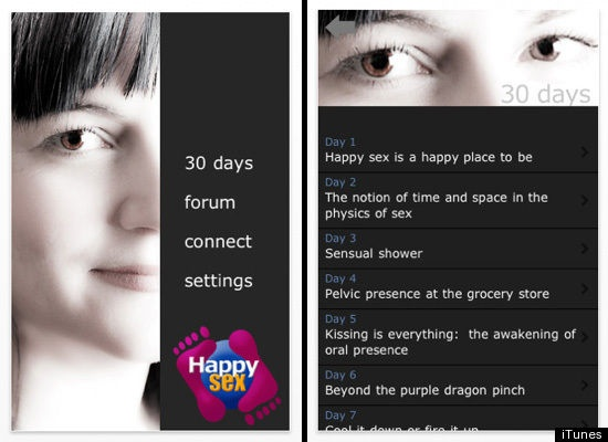 Happy Sex with Maryline and 9 Awesome iPhone Apps That Will Spice Up Your Love Life (PHOTOS)