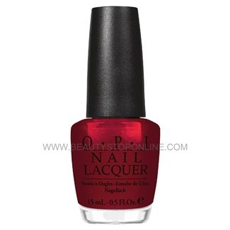 opi nail lacquer bastille my heart