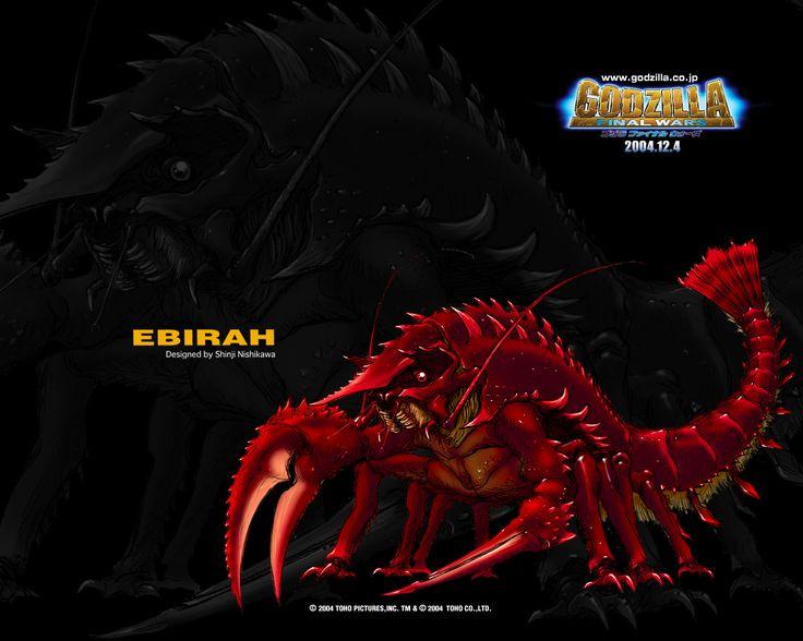 Ebirah from GODZILLA F...