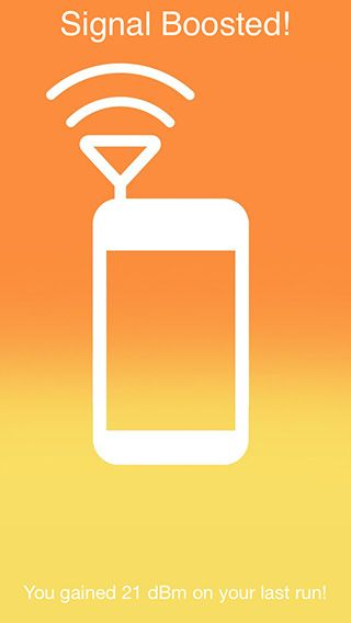 Improve iphone reception at home