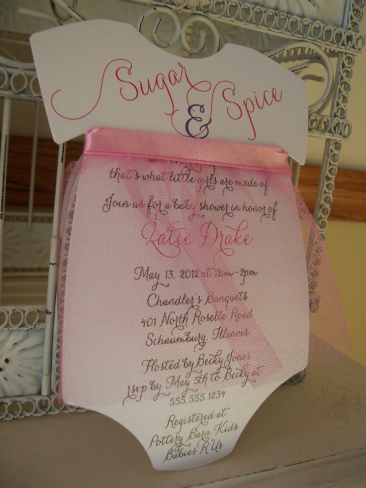 Sugar And Spice Baby Shower Invitations is one of our best ideas you might choose for invitation design