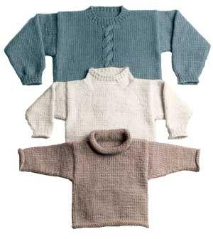 EASY BULKY SWEATER PATTERN Knitting Pinterest