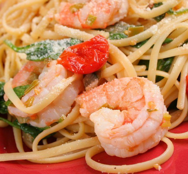 Lemony Shrimp Scampi Recipe — Dishmaps