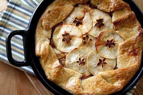 ... Caramel Apple Skillet Galette from Cup of Sugar Pinch of Salt
