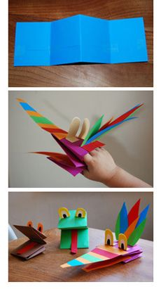 paper hand puppet