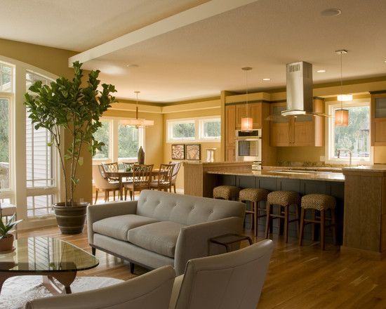 Open Concept Kitchen Design Delectable Inspiration