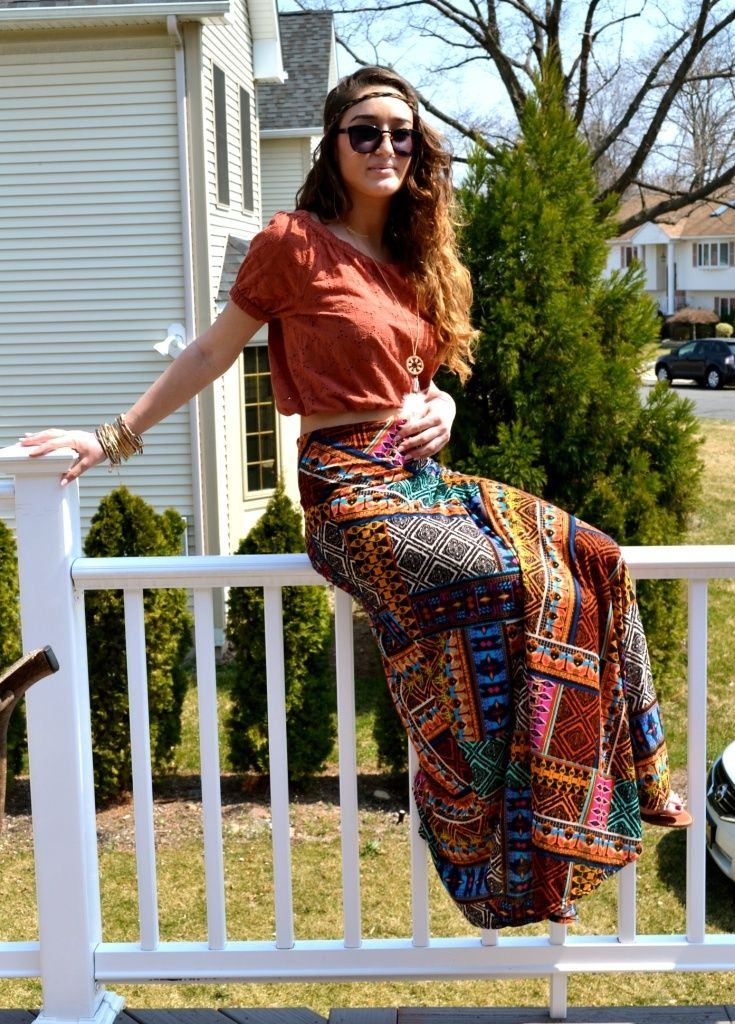 Hippie Skirts Outfits- 16 Ideas How to Wear Hippie Skirts