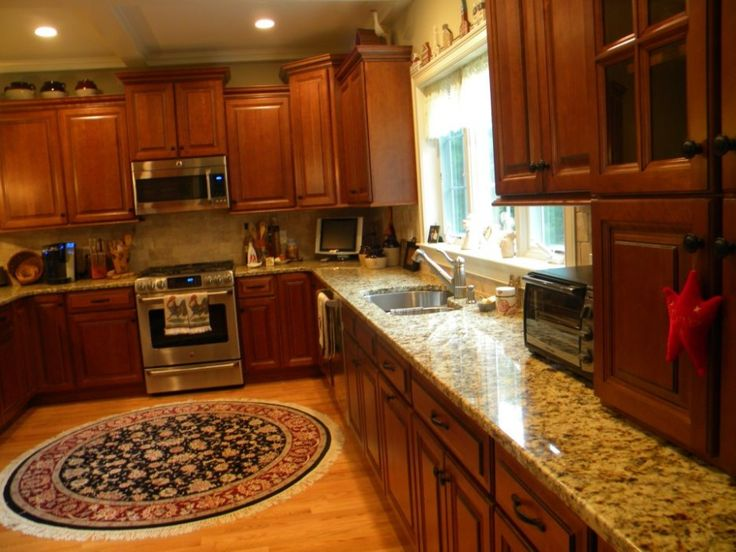 kitchen backsplash with santa cecilia granite http modtopiastudio