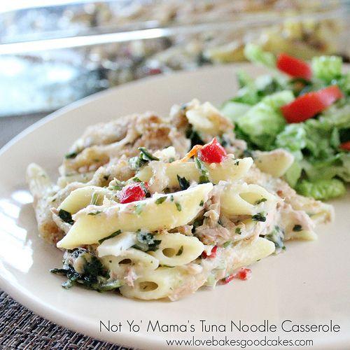 Not Yo\' Mama\'s Tuna Noodle Casserole | FOOD - Meat, Chicken, Fish ...