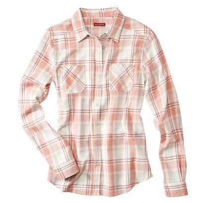 Merona Women 39 S Flannel Shirt Pink Red Everyday