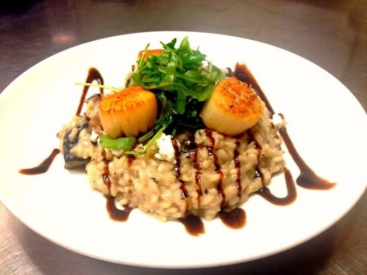 Scallops With Risotto | newhairstylesformen2014.com