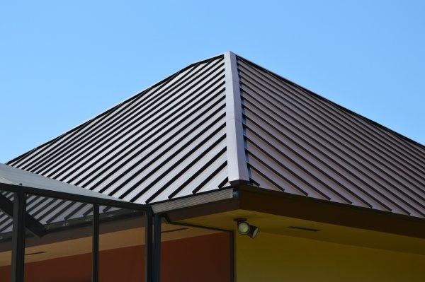 Pin By Istueta Roofing On Standing Seam Mansard Brown