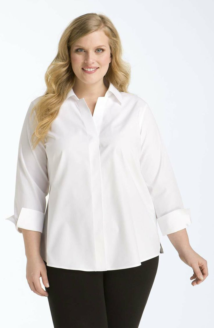 Wrinkle free ladies blouses collar blouses Wrinkle free shirts for women
