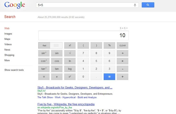 new google calculator design