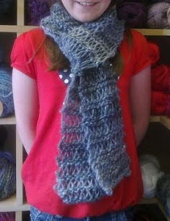 Crochet Knit Stitch Scarf : Knitted Slip Stitch Scarf Knitting Pinterest