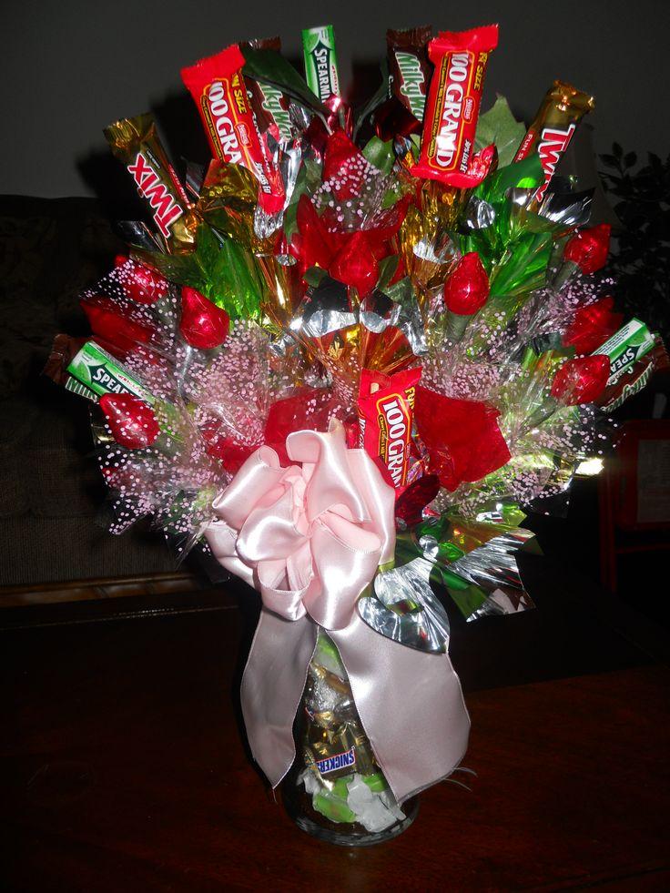 Diy candy bouquet ideas myideasbedroom