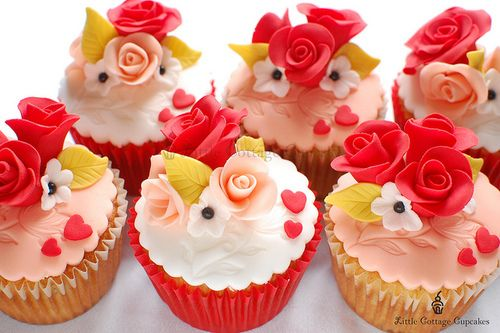 valentine day bakery items