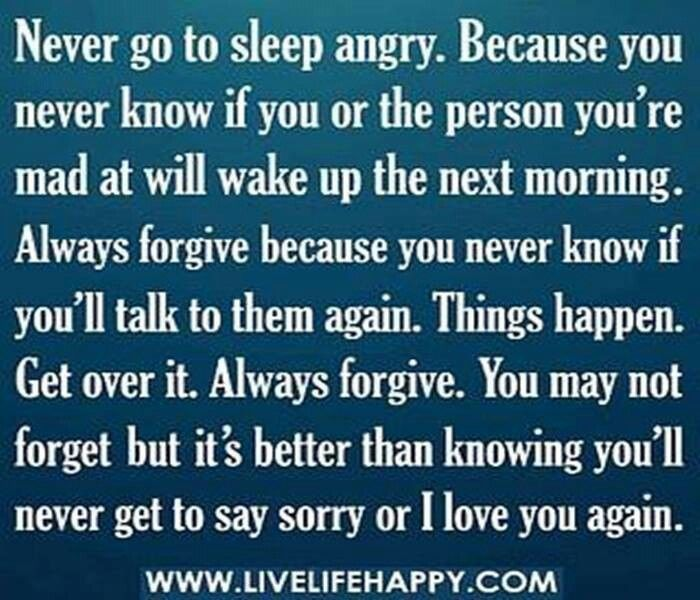 going to bed angry quotes 2