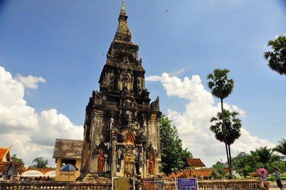 Ngọn tháp That Ing Hang, Savannakhet, Lào