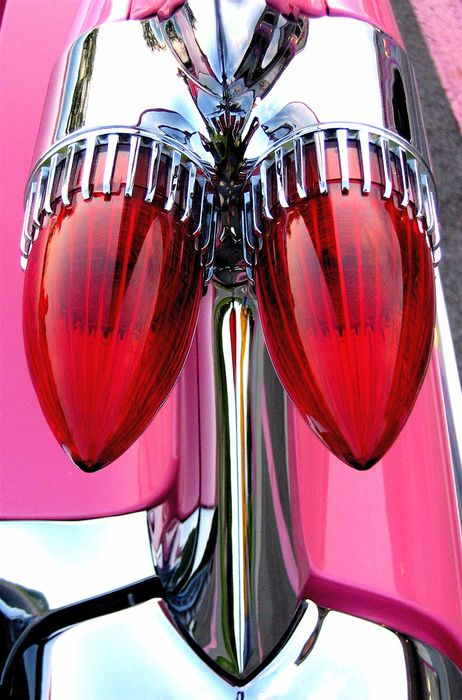 Pink 59 Caddy by Liberty Images