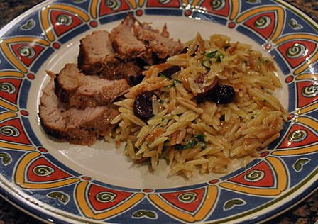 Toasted Orzo with Olives and Lemon | pasta and rice | Pinterest