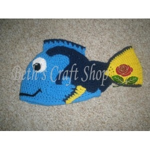 Disney - Finding Nemo - Dory Crochet Hat Crochet Hats ...
