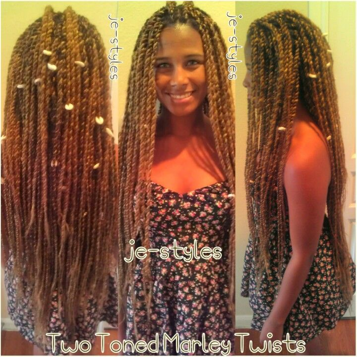 Marley Twists with Color