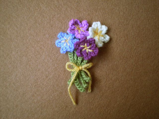 Crochet Daisy Bunch - Tutorial