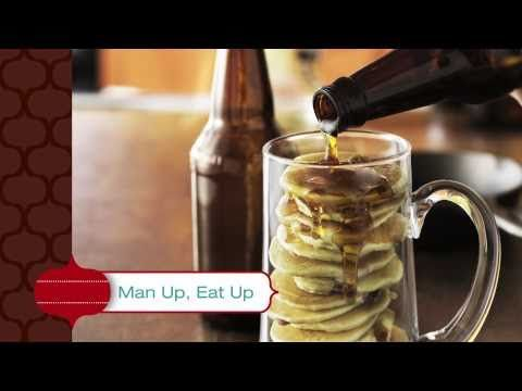 Beer and Bacon Mancakes | Recipes to try | Pinterest
