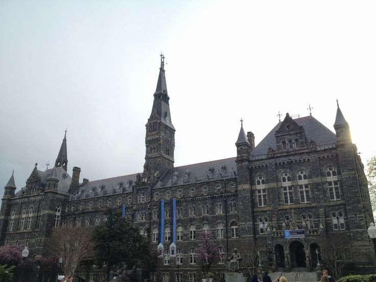 georgetown university short essay
