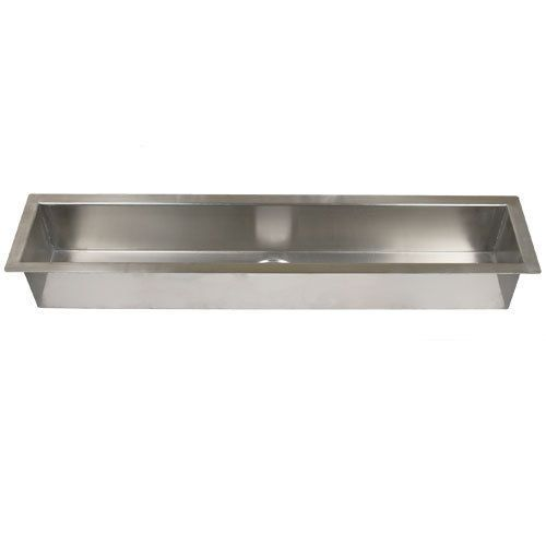 Trough Sink Stainless Steel : 42