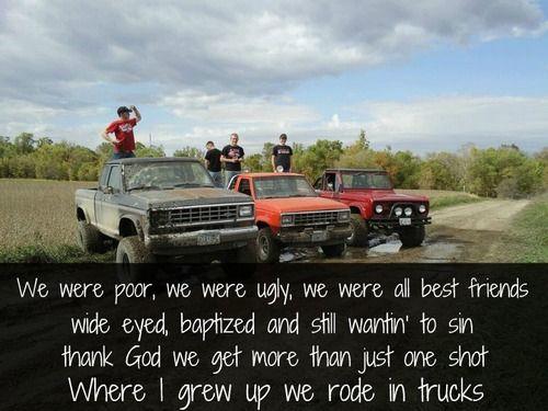 """We Rode in Trucks"" Luke Bryan.  @Brittany Tilmon"