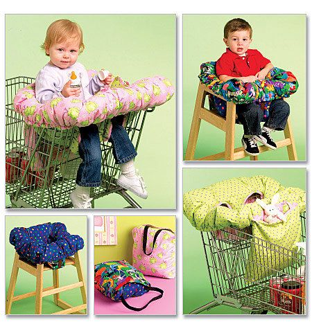 How to Sew a Baby Shopping Cart Cover | Crafts - Creativebug