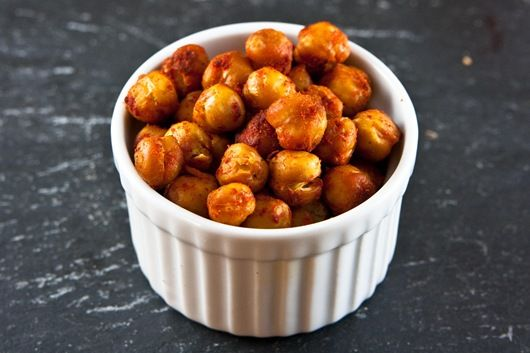 paprika roasted chick peas | Gastronomies! | Pinterest