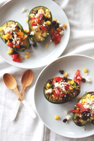 Grilled Avocado Bar   Recipes   Pinterest