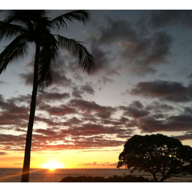 Hawaii another beautiful sunset living in paradise pinterest