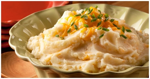 Three Cheese Mashed Potatoes | Food and Recipes | Pinterest