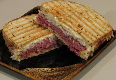 For the Love of Cooking » Grilled Reuben Sandwich