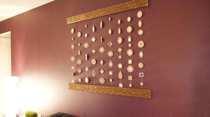 Wall Art Mirror Diy : Diy mirror wall art home