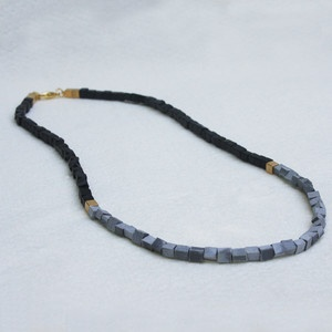 I would wear this necklace every day. Grommet Necklace Black now featured on Fab.