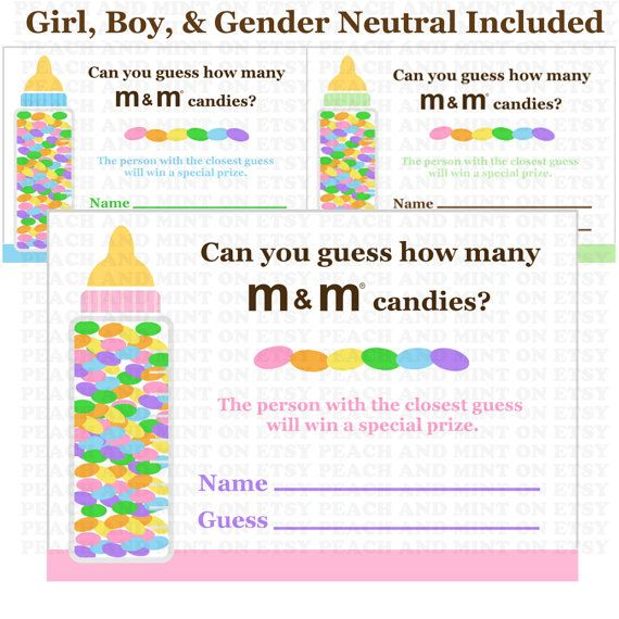 printable candy guessing game printable baby shower games girl or