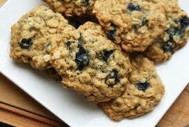 High protein oatmeal blueberry cookies | Healthy recipes | Pinterest